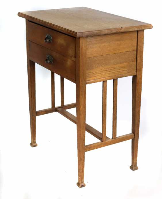 Art Nouveau sewing table circa 1910 - photo 2