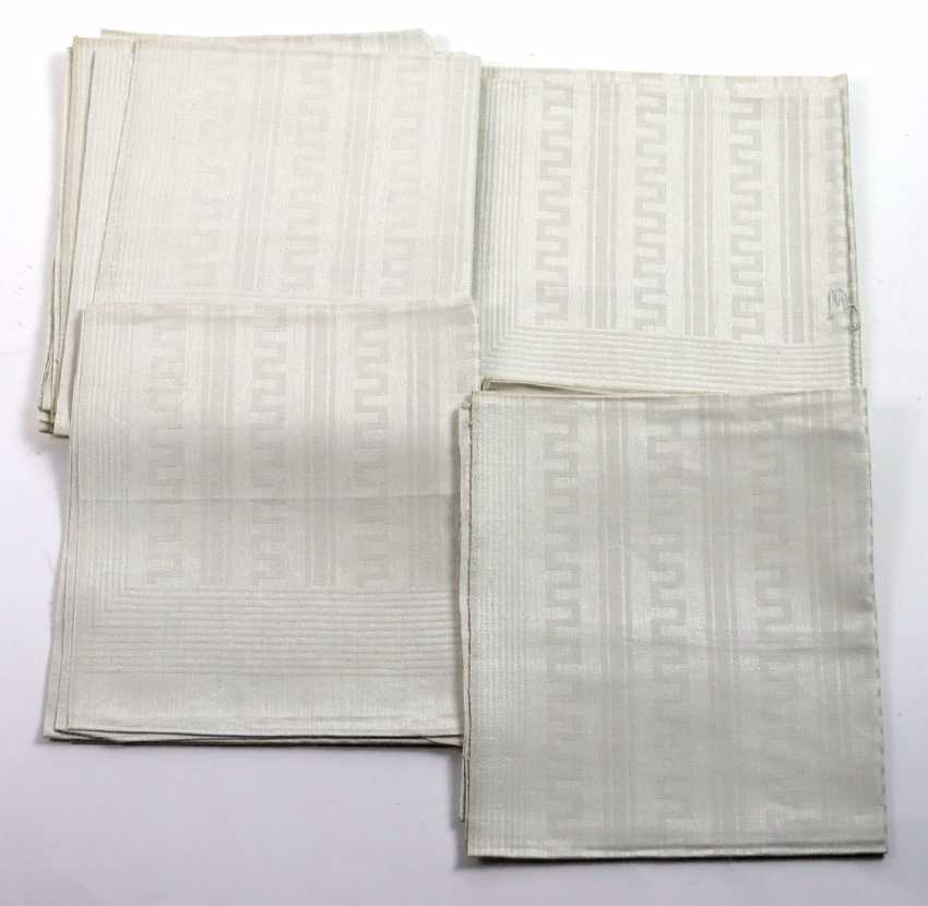 Art Deco Linen Towels - photo 1