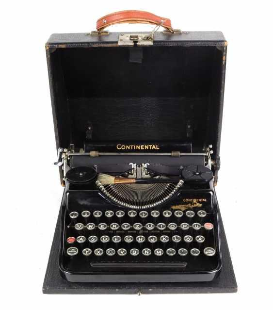 Travel Typewriter *Continental* Wanderer Werke In 1936 - photo 1