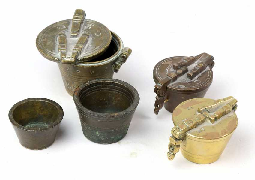 3 cups weights 19. Century - photo 1