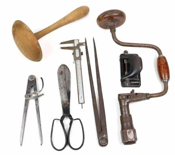 Posten altes Werkzeug 19. Jahrhundert - Foto 1