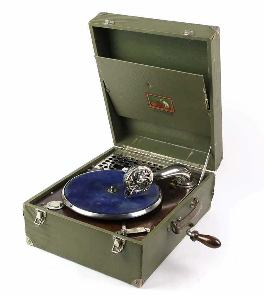 Travel gramophone 1930s - photo 1