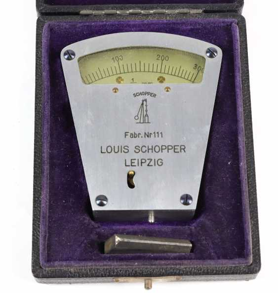 The measuring device in the case of Louis Schopper - photo 1