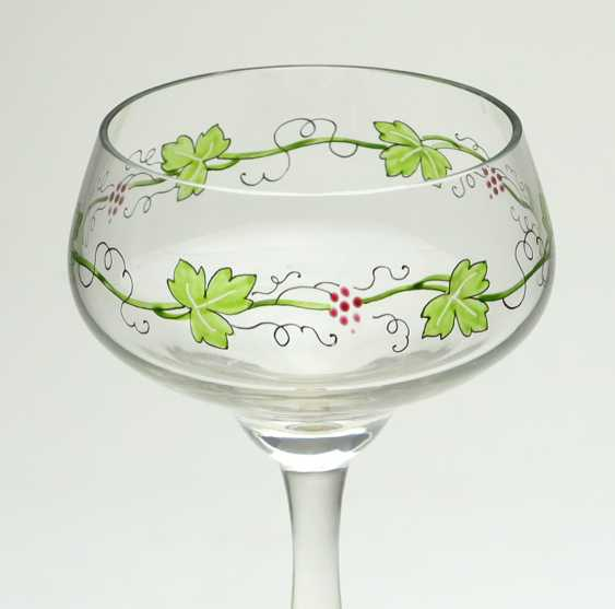 Art Nouveau stem glass Theresienthal to 1905 - photo 2