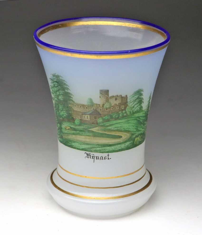 Alabaster beaker, in order to 1840/50 - photo 1