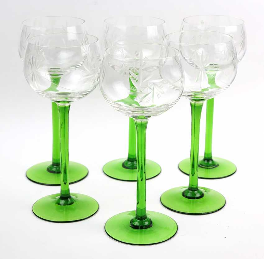 Set Of Wine Goblets *Sling Star* - photo 1
