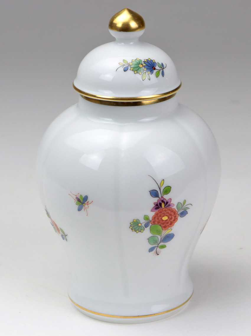 Meissen Lidded Vase *Indian Decor* - photo 2