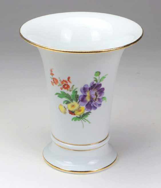Meissen Funnel Vase *Flower Bouquet* - photo 2