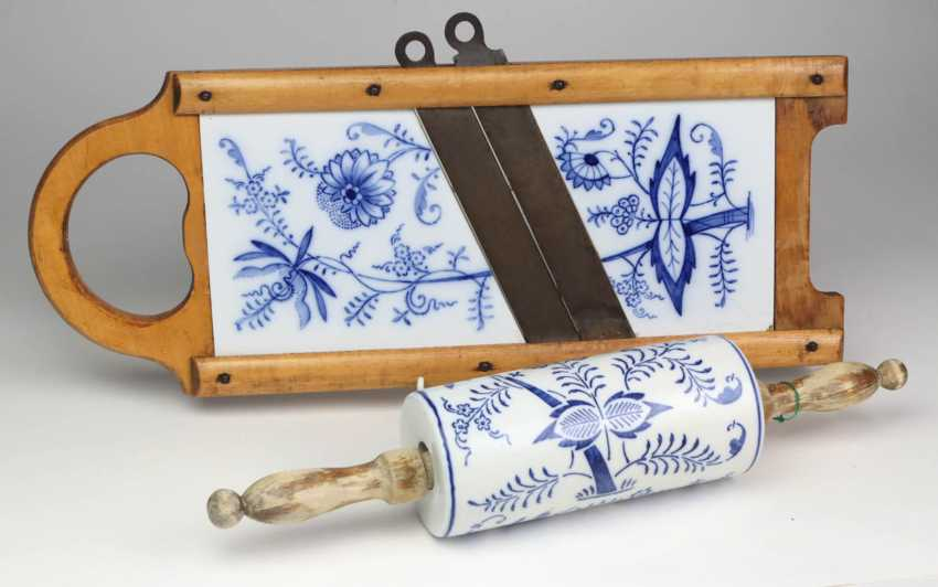 *Onion pattern* herb slicer and rolling pin - photo 1