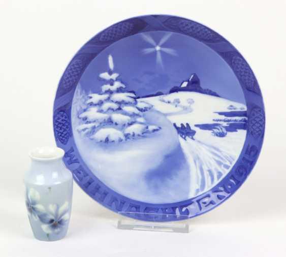Christmas plate 1915, among other things, - photo 1