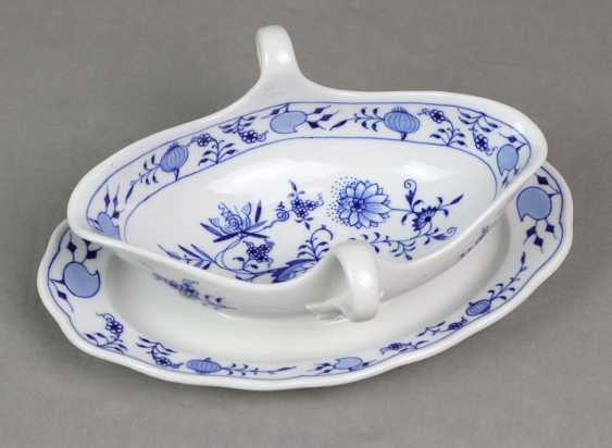 Meissen Gravy Boat *Onion Pattern* - photo 1