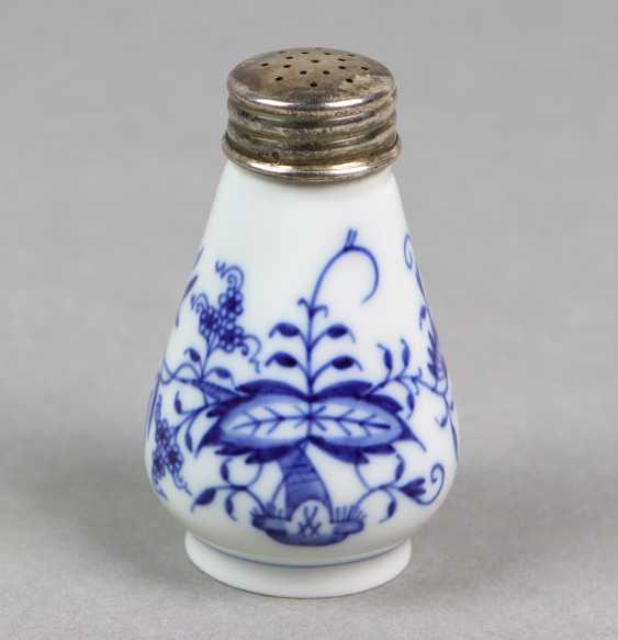 Meissen Salt Shaker *Onion Pattern* - photo 1
