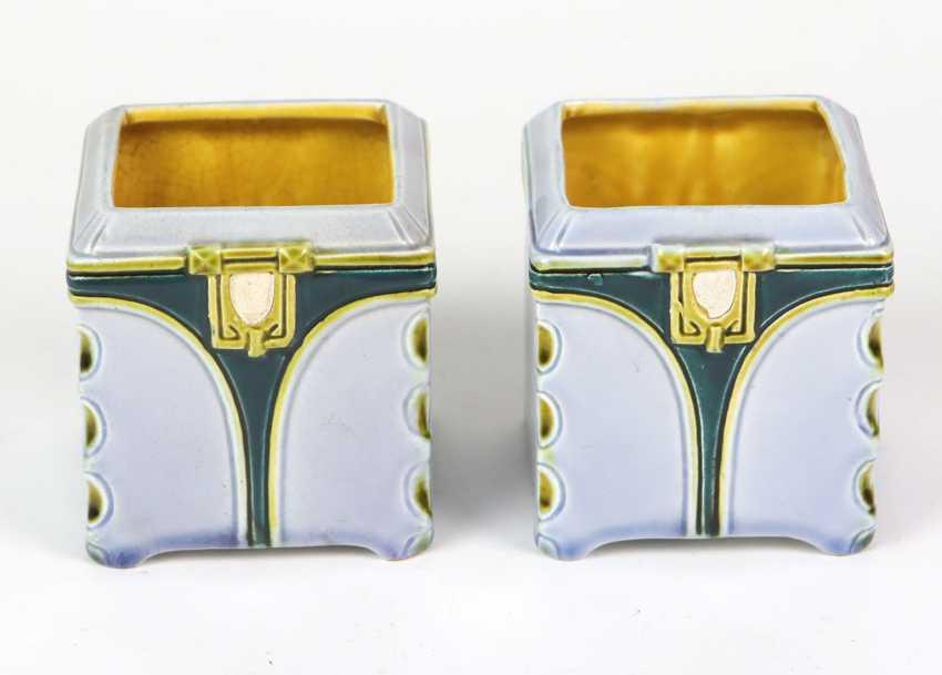 Art Nouveau Sender Pair - photo 1