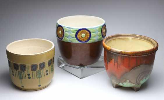3 Cache-Pots En Céramique - photo 1