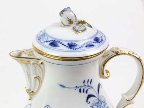 Meissen Coffee Pot *Vine Leaves* - photo 2