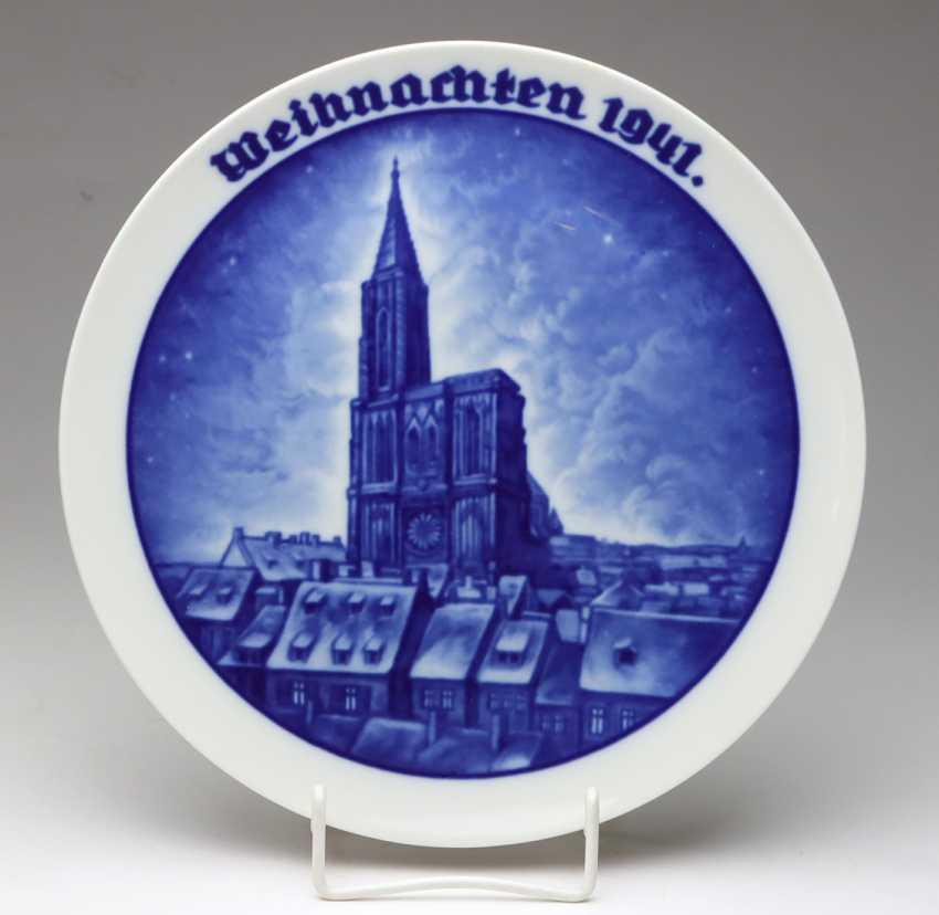 Rosenthal Christmas Plate 1941 - photo 1