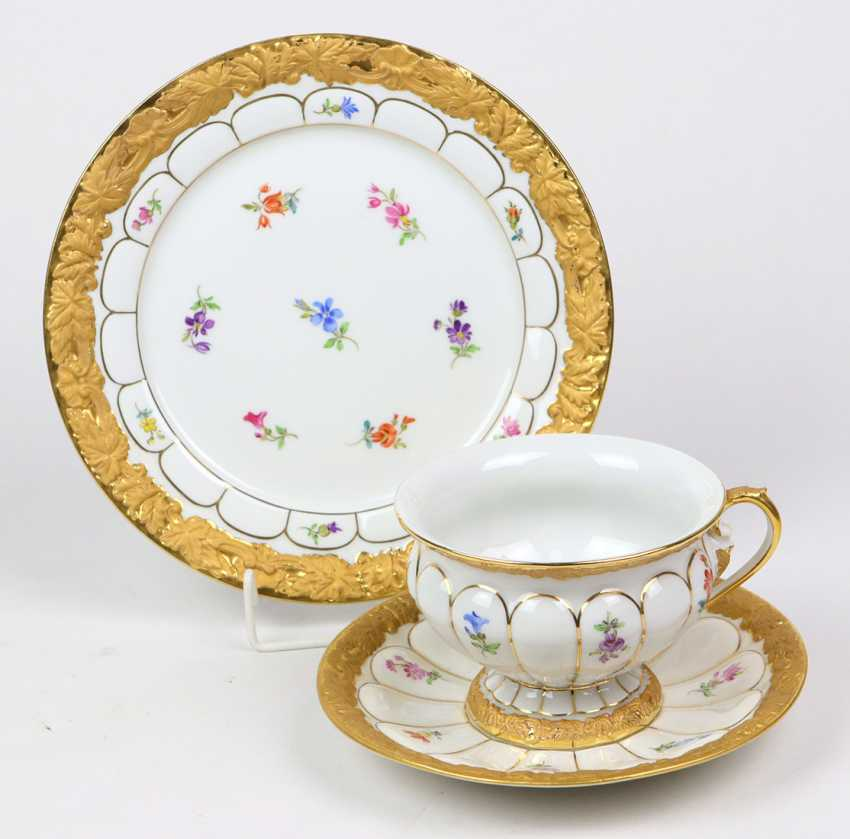 Meissen Coffee And Cake *X-Shape* - photo 1