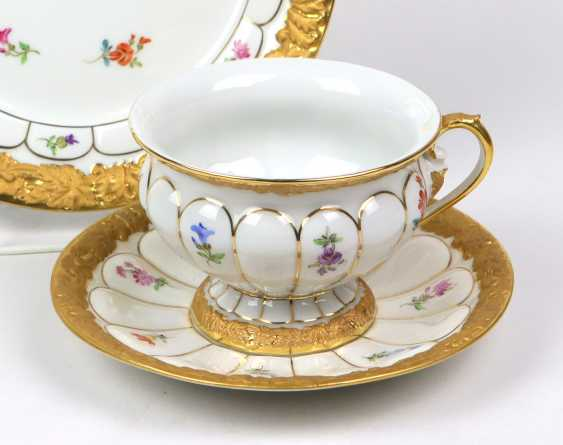 Meissen Coffee And Cake *X-Shape* - photo 2