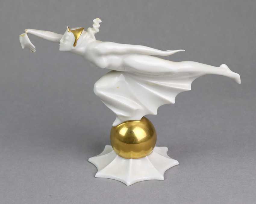 Art Deco Figurine Hutschenreuther - photo 1