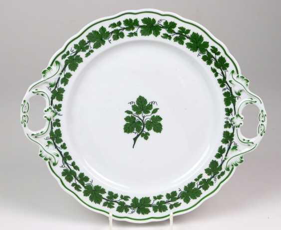 Meissen Cake Plate *Vine Leaves* - photo 1