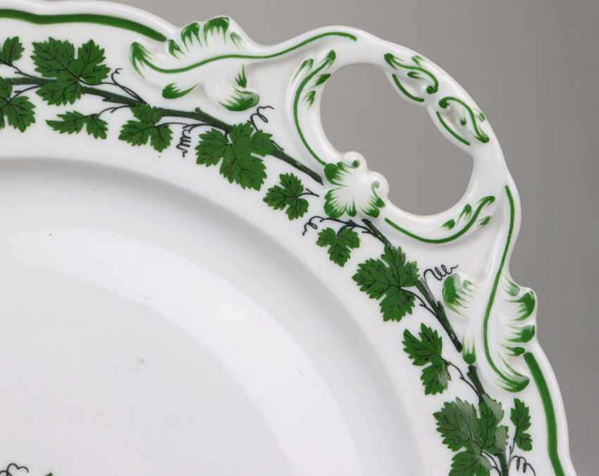 Meissen Cake Plate *Vine Leaves* - photo 2