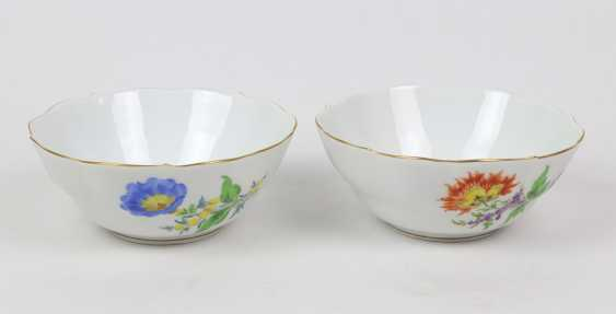 Meissen 2 Cups *Flower 3* - photo 1