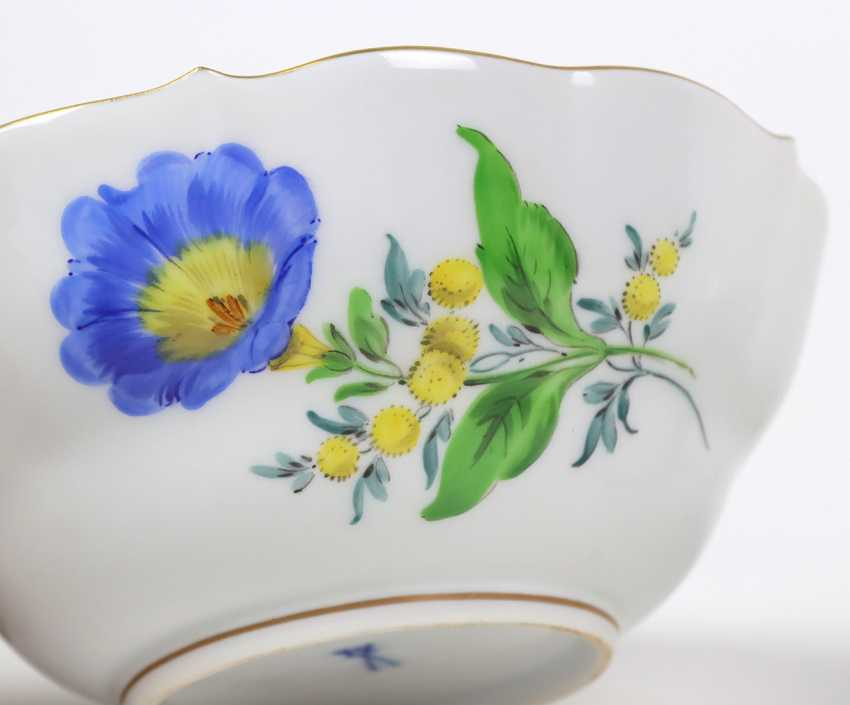 Meissen 2 Cups *Flower 3* - photo 2