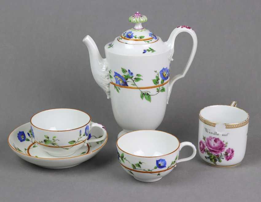Meissen 5 *Marcolini* Porcelain Parts - photo 1