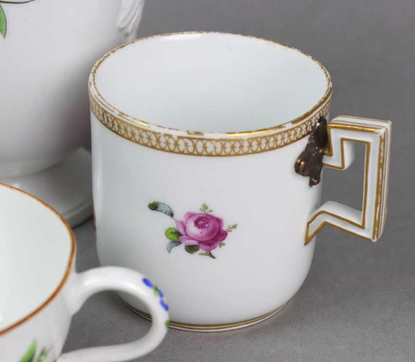 Meissen 5 *Marcolini* Porcelain Parts - photo 2