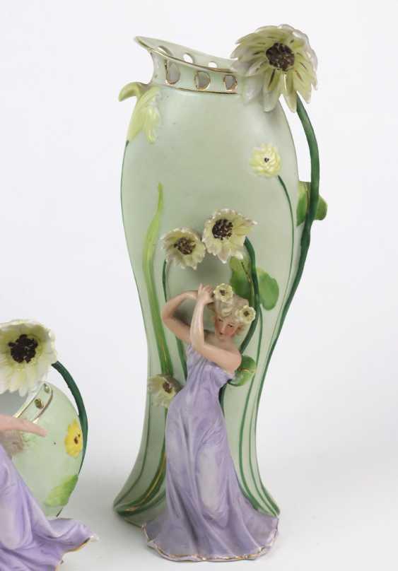 Art Nouveau vase pair of u principal investigator - photo 2