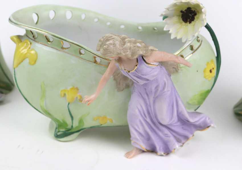 Art Nouveau vase pair of u principal investigator - photo 3