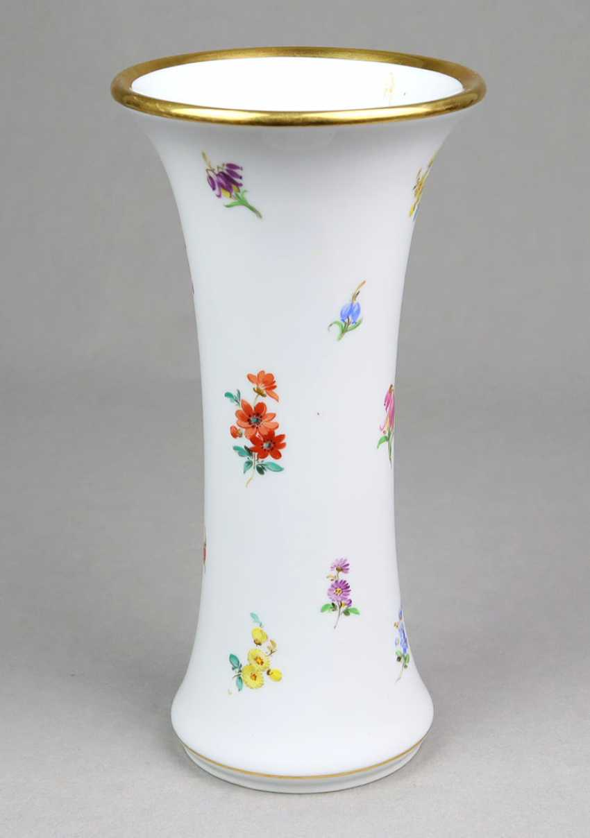 Meissen Funnel Vase *Flowers* - photo 1