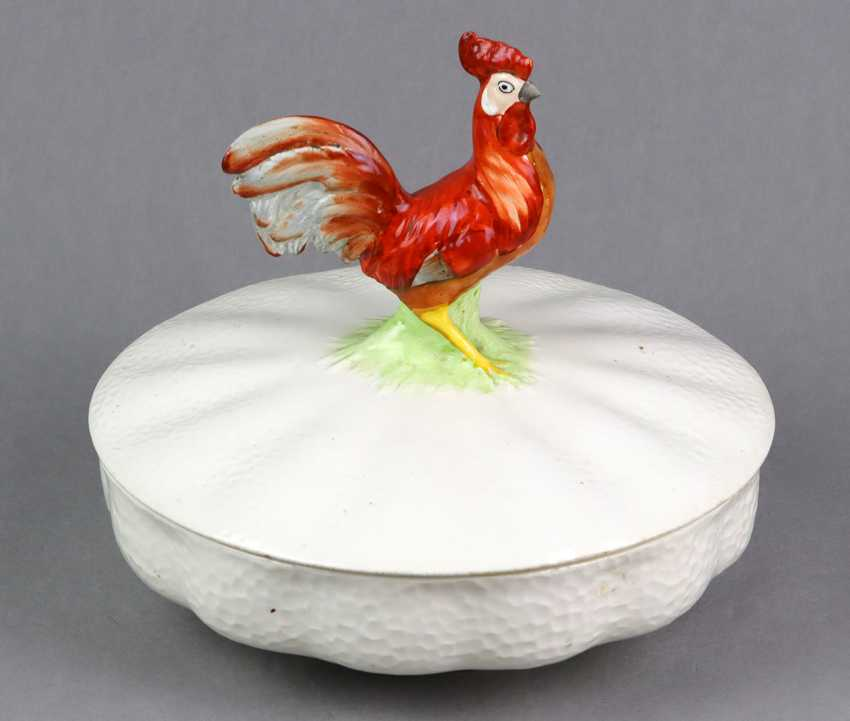 Max Roesler cover terrine with cock - photo 1