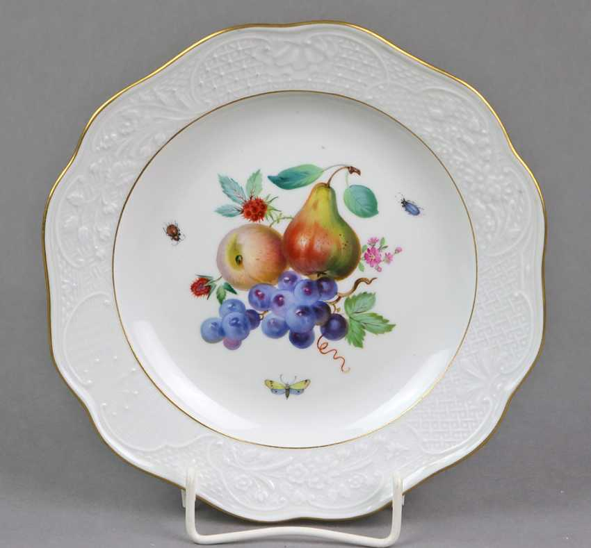 Meissen relief edge of the plate to 1905 - photo 1