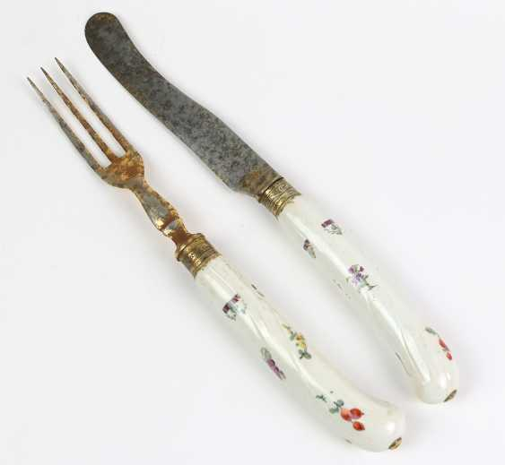 Meissen 2 pieces of Cutlery to 1745/50 - photo 1
