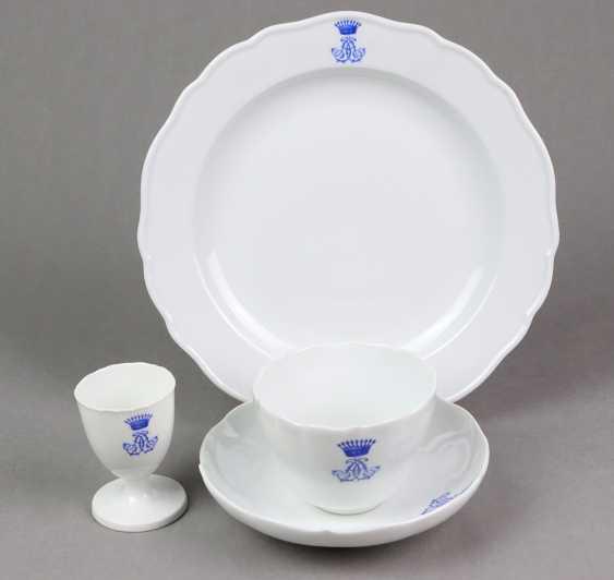 Meissen Breakfast set 1850 - photo 4