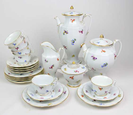 Meissen Coffee Service *Scattered Flowers* - photo 1