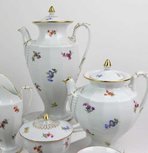 Meissen Coffee Service *Scattered Flowers* - photo 2
