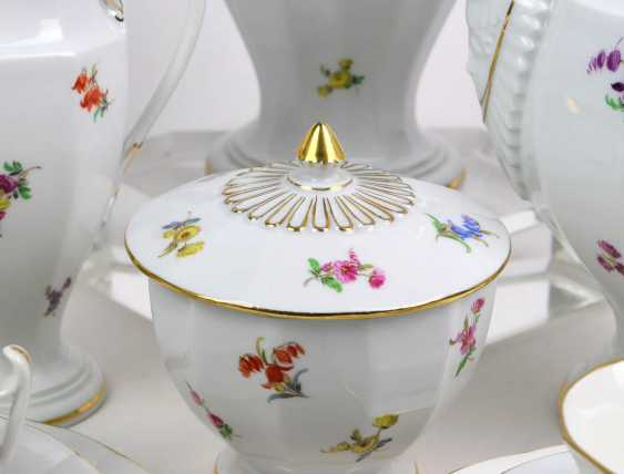 Meissen Coffee Service *Scattered Flowers* - photo 3