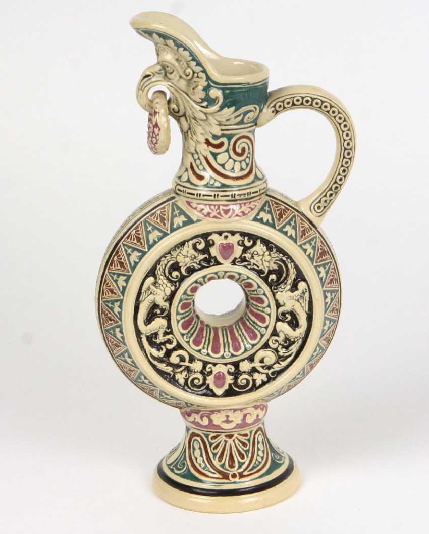 Ring Jug At The End Of 19th Century. Century - photo 1