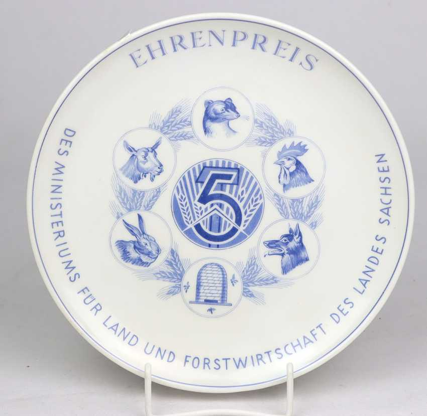 Meissen Prize Of Honour Plate - photo 1