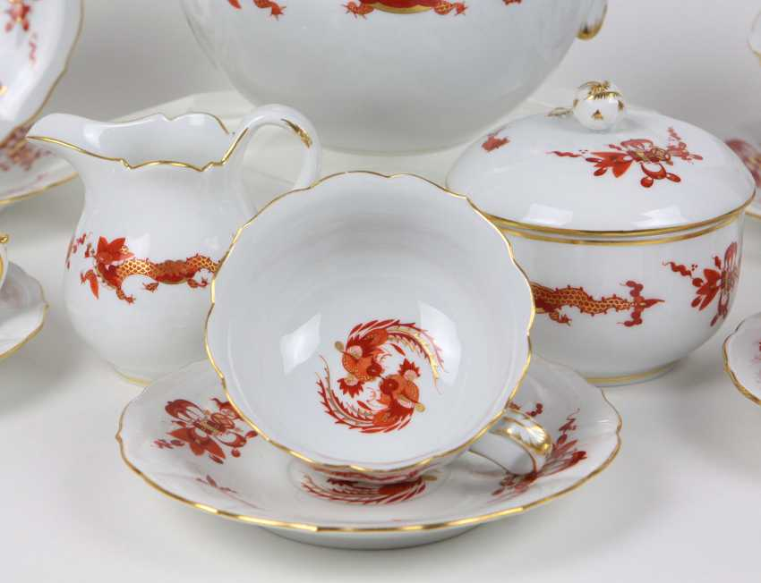Meissen Tea Service * Rich Dragon* - photo 2