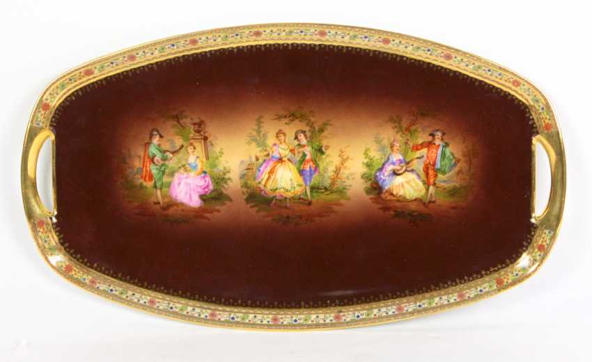 Serving tray 1900's - photo 1