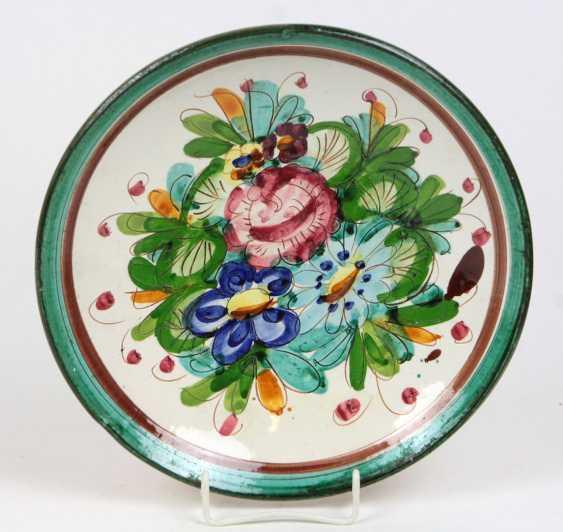 hand-painted ceramic bowl - photo 1