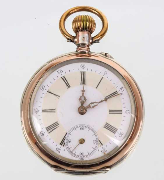 Mens Pocket Watch Silver - photo 1