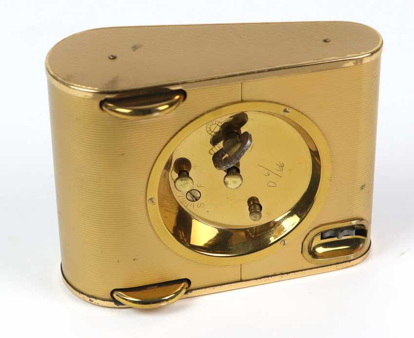 *Europe* table clock/ alarm clock with calendar, 1950s - photo 4