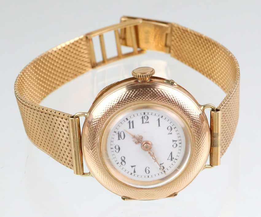 *Dürrstein&Co* watch with bracelet - yellow gold 585 - photo 1