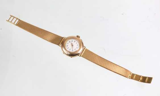 *Dürrstein&Co* watch with bracelet - yellow gold 585 - photo 3