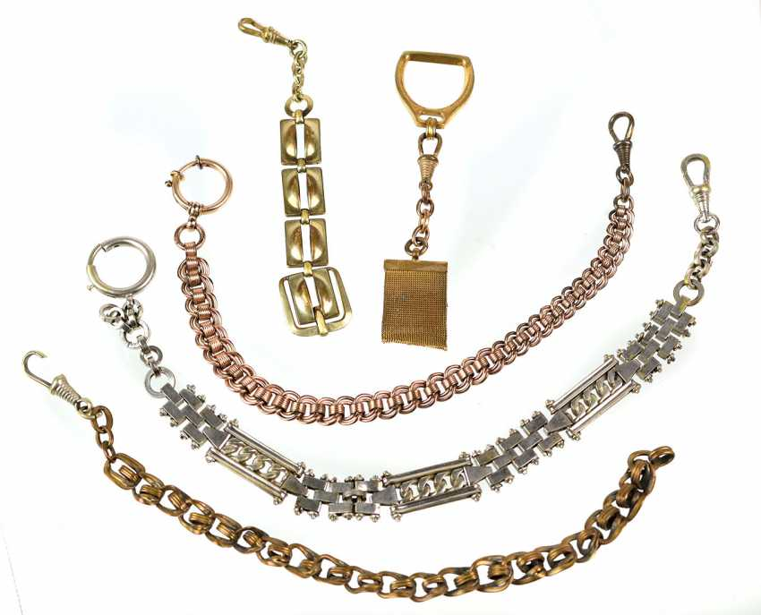 3 watch chains among other things - photo 1