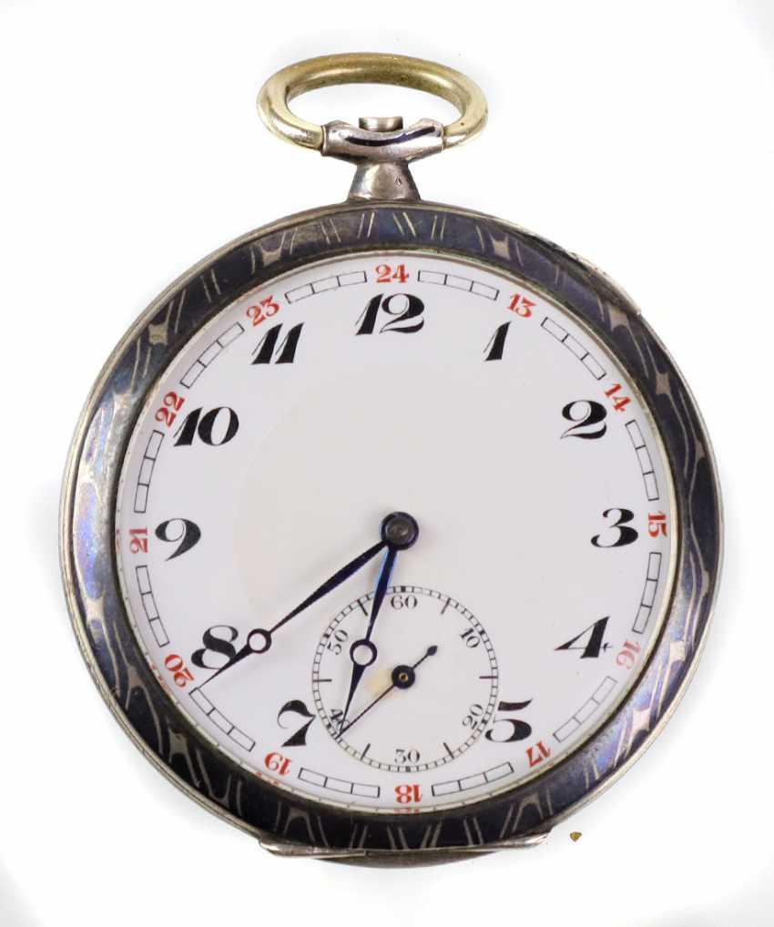 Niello Men's Pocket Watch - Silver - photo 1